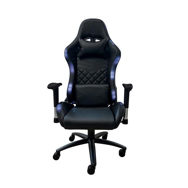Ventaris VS800LED LED világítással fekete gamer szék - 1