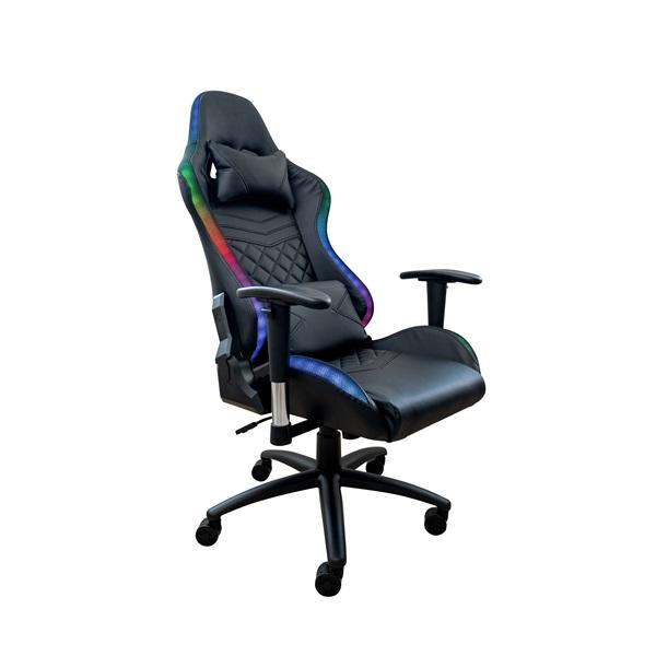 Ventaris VS800LED LED világítással fekete gamer szék - 2
