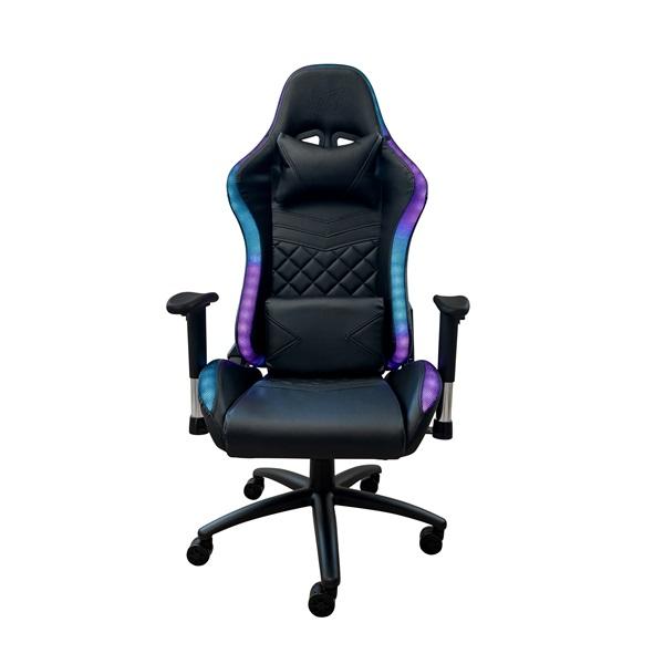 Ventaris VS800LED LED világítással fekete gamer szék - 3