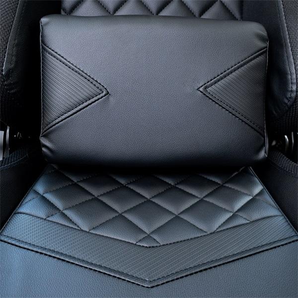 Ventaris VS800LED LED világítással fekete gamer szék - 11