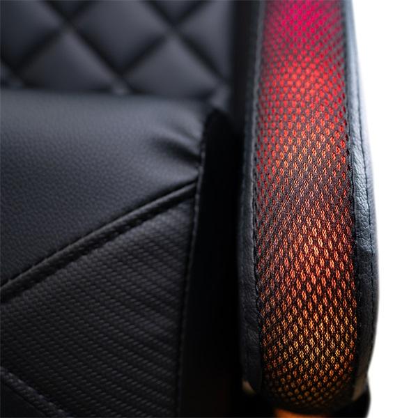 Ventaris VS800LED LED világítással fekete gamer szék - 14