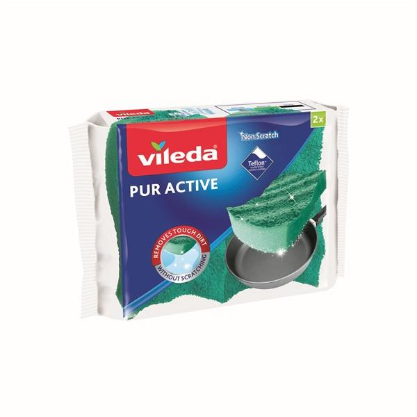 Vileda Pur Active mosogatószivacs 2 db-os - 1