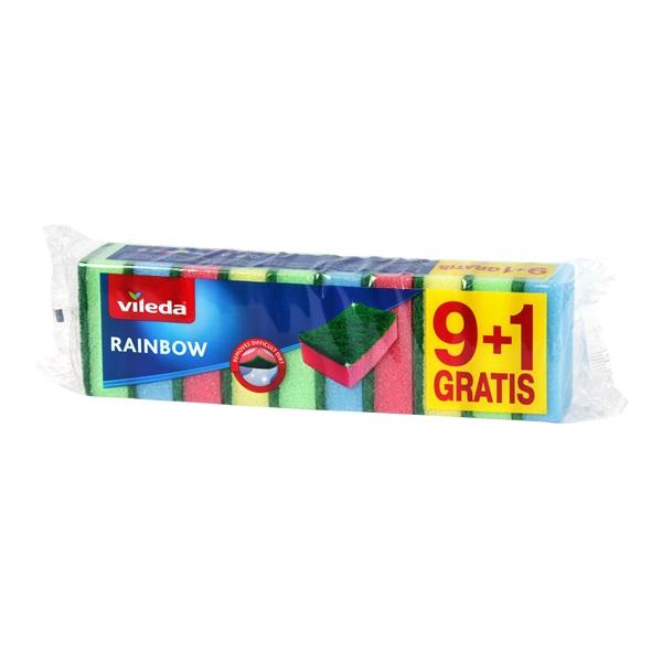 Vileda Rainbow mosogatószivacs 9+1 db-os - 1