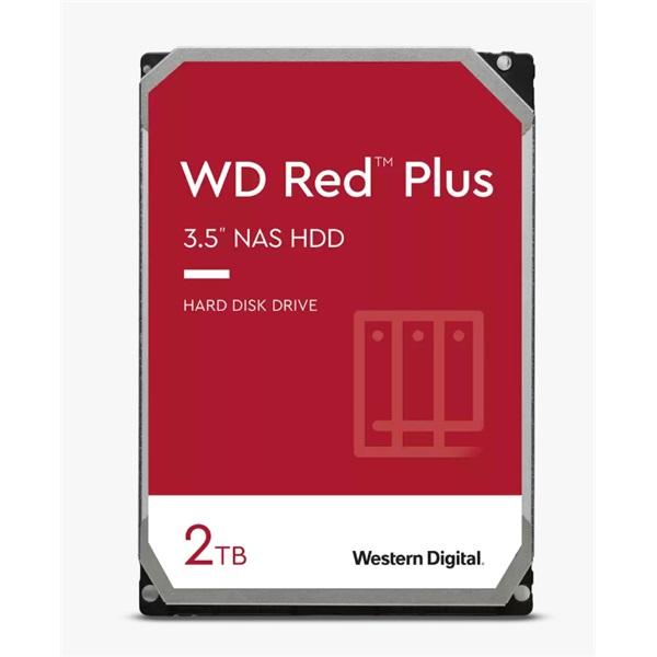"Western Digital 3,5"" 2000GB belső SATAIII 5400RPM 128MB RED PLUS WD20EFZX winchester 3 év - 1"