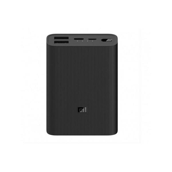 Xiaomi Mi 3 Ultra Compact 10000mAh fekete power bank - 1