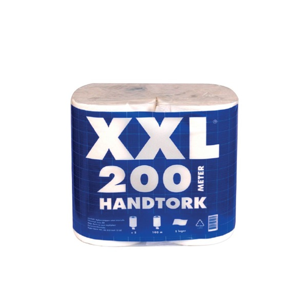 Xl Handtork 2db/csomag 1 rétegű fehér kéztörlő - 1