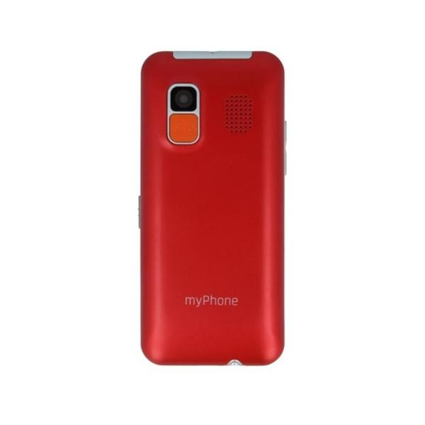 """myPhone Halo EASY 1,7"""" piros mobiltelefon a PlayIT Store-nál most bruttó 15.999 Ft."""